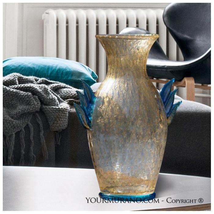 murano glass classic vase