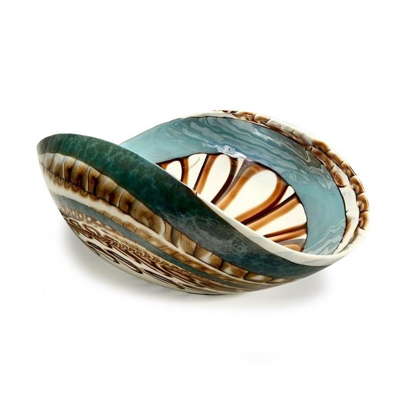 Murano Glass Bowl For Home Interior Venice Glass Artwork