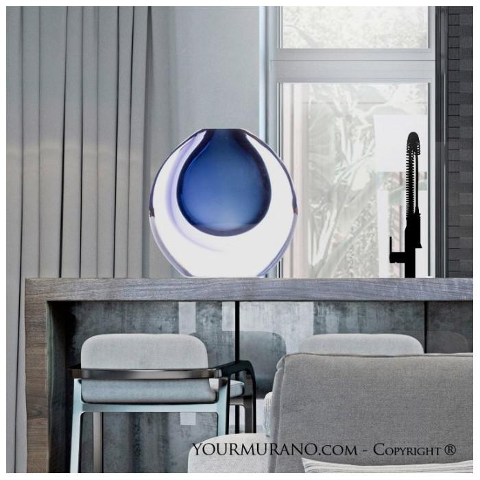 Vase interior decoration modern glass