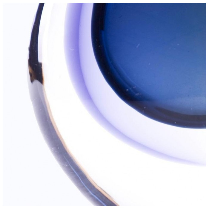 Vase murano glass round