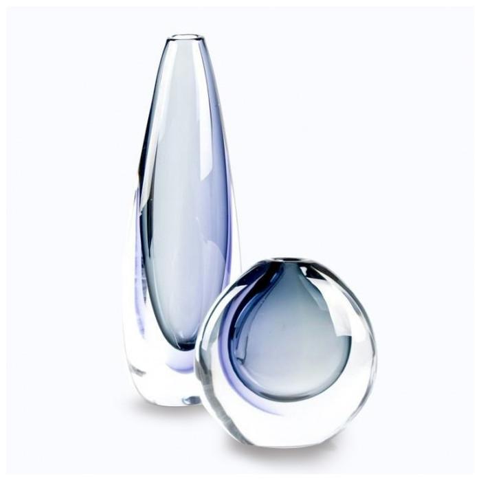 Vases modern sommerso blue